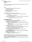 LING101 Lecture Notes - Logical Consequence, Lexicalization, Polysemy