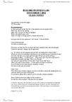 BUSI 2601 Lecture Notes - Unemployment Benefits, Parental Leave, Life Insurance