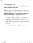 PSYC 3690 Chapter Notes -Major Trauma, Posttraumatic Stress Disorder