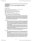 BUSI 2504 Study Guide - Stock Valuation, Cash Flow, Net Present Value