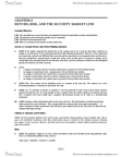 BUSI 2504 Study Guide - Fisher Equation, Capital Asset Pricing Model, Risk-Free Interest Rate