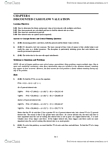 BUSI 2504 Study Guide - Net Present Value, Series Expansion, Amortization Schedule