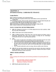 BUSI 2504 Study Guide - Russian Ruble, Real Interest Rate, Cash Flow