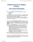 POLB92H3 Lecture Notes - Lecture 4: Feudalism, Tennis Court Oath, Maximilien Robespierre
