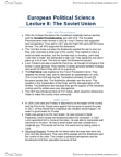 POLB92H3 Lecture Notes - Lecture 8: Mensheviks, Voluntaryism, Viktor Chernov