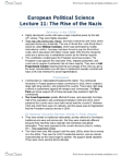 POLB92H3 Lecture Notes - Lecture 11: Wing Leader, European Political Science