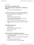 ARTH 2550 Lecture Notes - Andrea Del Castagno, Paolo Uccello, Uffizi