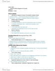 CHYS 2P35 Lecture Notes - Etiology, Neurotransmitter, Prefrontal Cortex