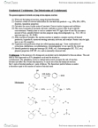 CHM151Y1 Study Guide - Final Guide: Arson, Stereochemistry, Fractional Distillation