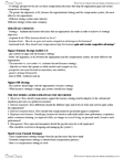 GMS 401 Study Guide - Vehicle Insurance, Organizational Culture