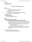 PSYC 318 Lecture Notes - Lecture 4: Inbreeding, Reuptake, Taurine