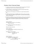 Metric 5 worksheet