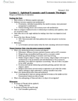 ANT356H1 Lecture Notes - Lecture 5: Consumerism, Protestant Work Ethic, Emerging Markets