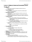 ANT356H1 Lecture Notes - Lecture 4: Alterity, Verstehen, Immanence