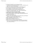 IMIN200 Lecture Notes - Lecture 3: Sphingosine, Chemokine Receptor, Autoimmune Regulator