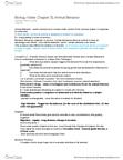 BIO SCI 94 Chapter Notes - Chapter 51: Pair Bond, Serenade, Animal Communication