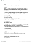 SOSC 1731 Lecture Notes - Commuter Town, Urban Design, Infill