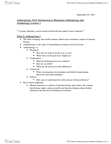 ANTH 1032 Lecture Notes - Uniformitarianism, Catastrophism, Osteology