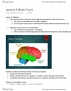 PSYA01H3 Lecture Notes - Lecture 9: Visual Cortex, Cerebral Cortex, Temporal Lobe