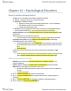 Psychology 1000 Chapter Notes - Chapter 16: Hypertension, Autonomic Nervous System, Genetic Predisposition