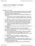SOCA03Y3 Chapter Notes - Chapter 13.4: Religious Pluralism, Theocracy, Church Attendance