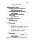 Economics 1021A/B Chapter Notes -Marginal Cost, Marginal Utility, Microeconomics