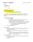 PSYC 2030 Lecture Notes - Lecture 5: Robert Zajonc, Projective Test, Content Validity