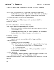 PSYC 2030 Lecture Notes - Lecture 7: Statistical Inference, Descriptive Statistics, Statistical Hypothesis Testing
