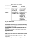MKT 100 Lecture Notes - Lecture 2: Swot Analysis
