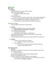 BIOL 1090 Study Guide - Ribosomal Rna, 18S Ribosomal Rna, 5.8S Ribosomal Rna