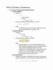 PHYS 142 Chapter Notes - Chapter 25: Test Particle, Robert Andrews Millikan, Electric Potential Energy