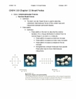 CHEM 110 Chapter Notes - Chapter 12: Enthalpy, Ionic Compound, Lattice Energy