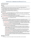 MKTG 2030 Chapter Notes - Chapter 13: Rsa Insurance Group, Crisis Management, Media Consumption