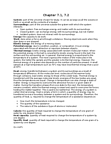 HMB203H1 Lecture Notes - Calorie, Isolated System, Heat Capacity