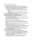 BIOD60H3 Lecture Notes - Invertebrate, Cenozoic, Marine Invertebrates