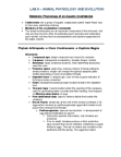 BIOL 111 Study Guide - Final Guide: Thermoregulation, Ectotherm, Gastrointestinal Tract