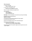 ENGC44H3 Lecture Notes - Lecture 2: Deductive Reasoning, Inductive Reasoning