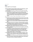 SOCIOL 1A06 Chapter Notes -Meritocracy, Working Mother, Risk Society