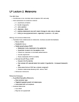 Anatomy and Cell Biology 4461B Lecture Notes - Vinca Alkaloid, Dacarbazine, Cytotoxic T Cell