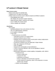 Anatomy and Cell Biology 4461B Lecture Notes - Palpitations, Lymph Node, Metastasis