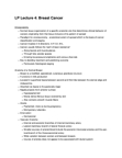 Anatomy and Cell Biology 4461B Lecture Notes - Myoepithelial Cell, Acinus, Follicular Phase