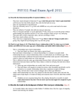 PSY311H5 Study Guide - Midterm Guide: Hypochondriasis, Psychopathology, Protective Factor