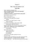 PSY311H5 Chapter Notes -Virginity Pledge, Posttraumatic Stress Disorder, Abecedarian Early Intervention Project