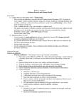 EESA10H3 Study Guide - Dander, Asthma, Passive Smoking