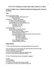 BIOC34H3 Lecture Notes - Hyperventilation, Brainstem, Snoring