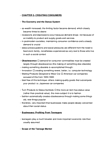 Sociology 2172A/B Chapter Notes - Chapter 5: Carnivalesque, Cui Bono, Consumer Capitalism