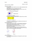 PHYS 102 Lecture Notes - Electric Field, Joule Heating, Temperature Coefficient