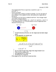 PHYS 102 Lecture Notes - Superposition Principle, Electric Field, Test Particle