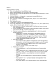 EESA07H3 Lecture Notes - Lecture 3: Hemoglobin, Abdominal Pain, Disinfectant