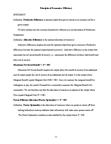 ACTG 2010 Lecture Notes - Pareto Efficiency, Allocative Efficiency, Productive Efficiency